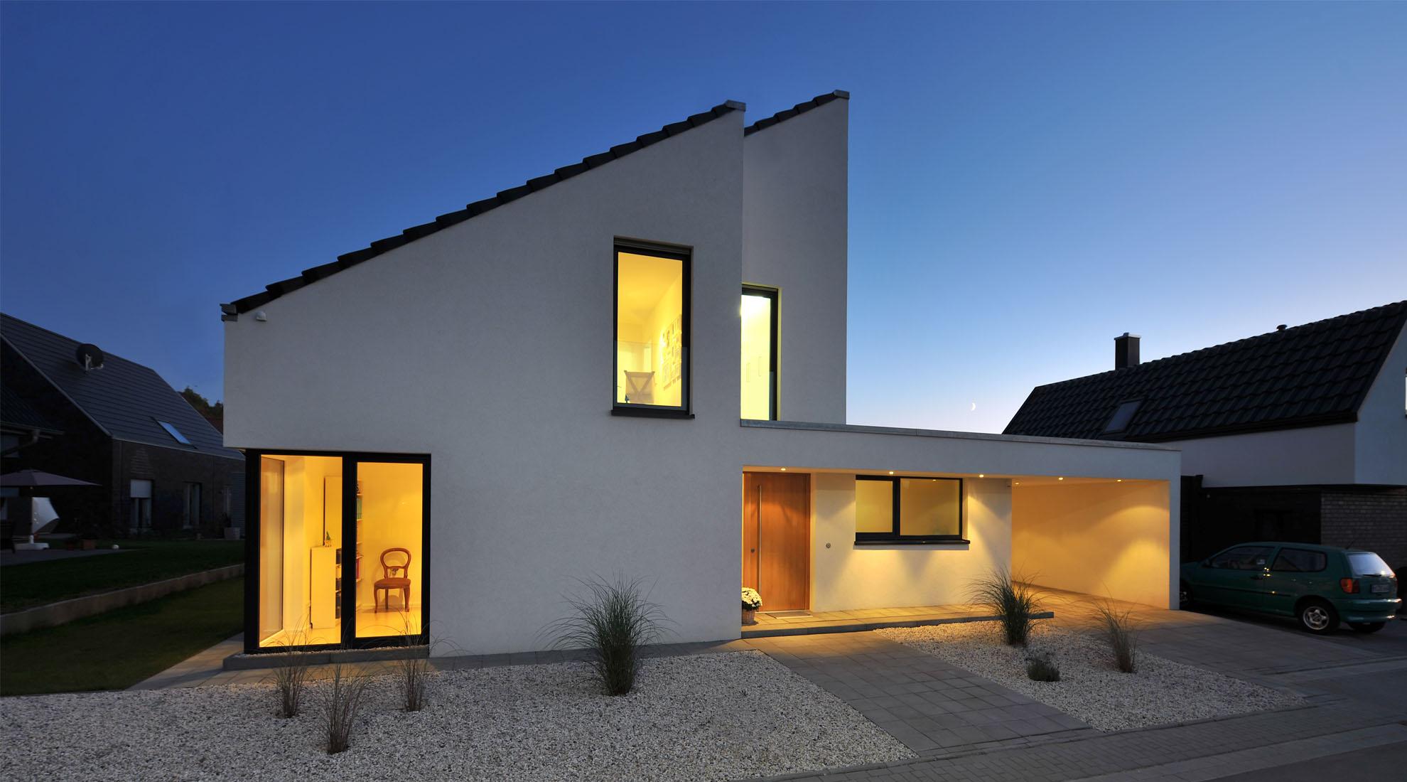 Haus l architekten spiekermann for L formiges haus
