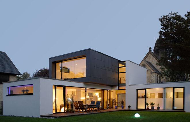 moderne h user architekten spiekermann. Black Bedroom Furniture Sets. Home Design Ideas